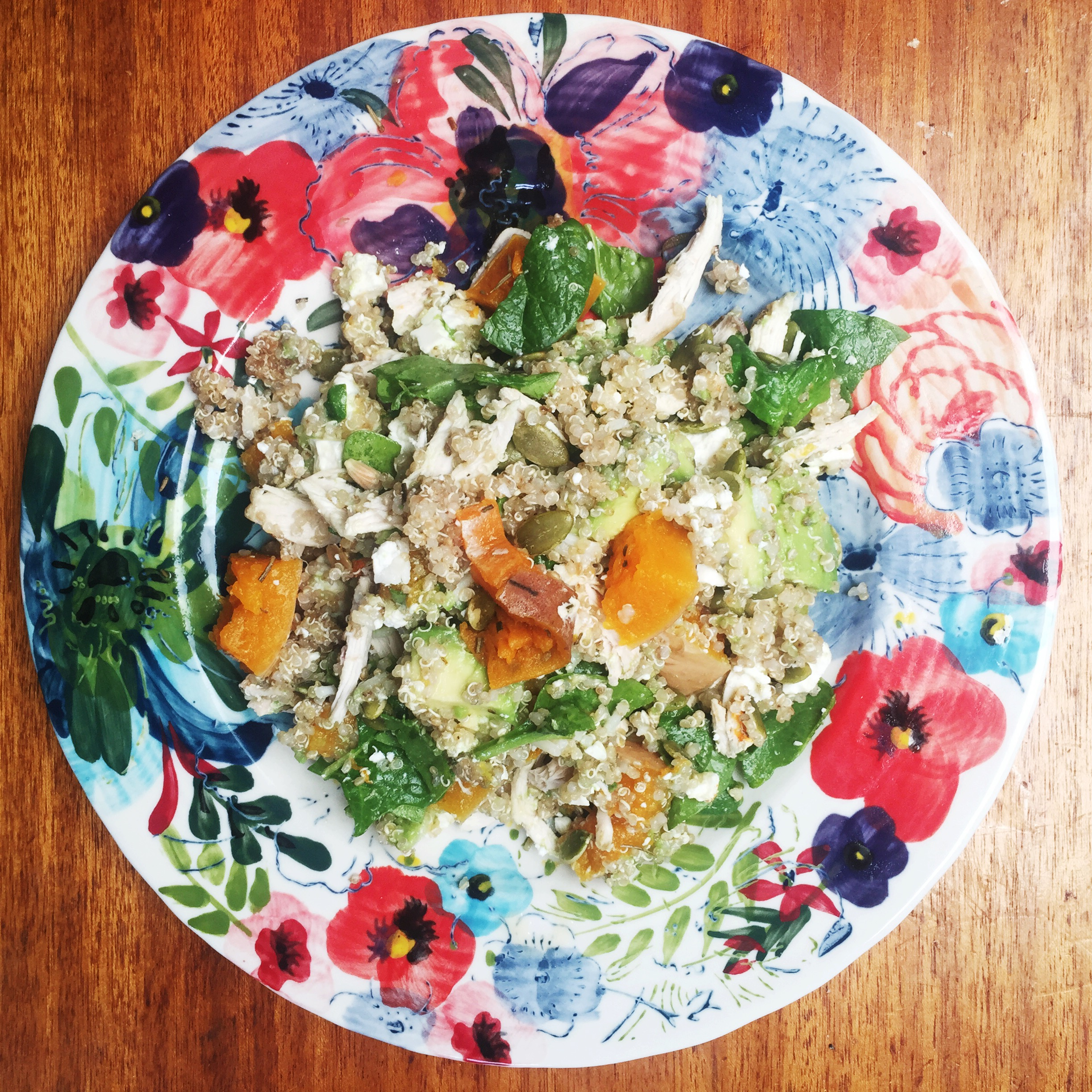 quinoa salad dinner lunch recipe healthy low fat